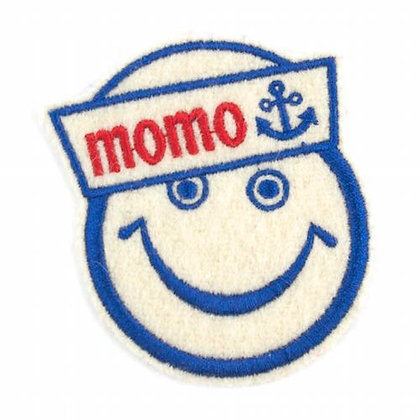 "No143 ALM Smile Patch  ""momo"""