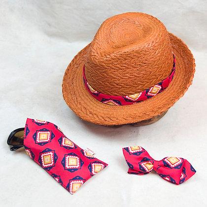 ALM Christys x Jean Patou Panama Hat 3pc Set A