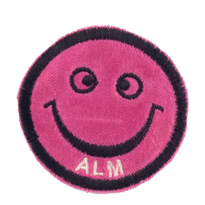 "No41 ALM Smile Patch Pink ""ALM"""