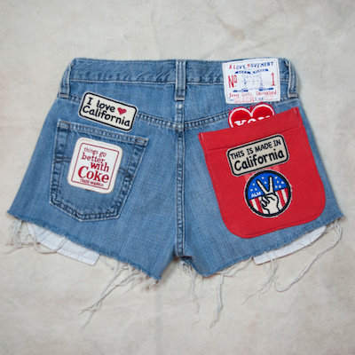 ALM Recycle Denim Shorts