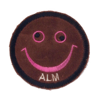 "No10 ALM Smile Patch Dark Brown ""ALM"""