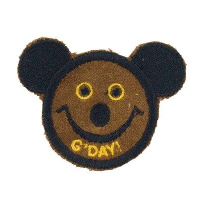 """ALM Mini Smile Patch Koala """"G'day"""" Brown"""