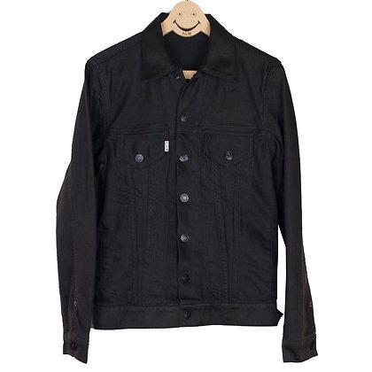 ALM Reversible Black Moleskin Jacket
