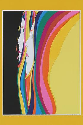 No4, TWO GRACES Silk Screen (1975)
