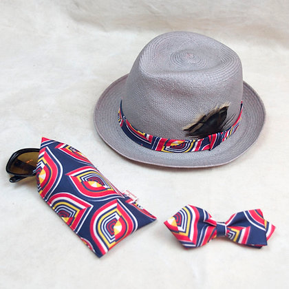 ALM Christys x Jean Patou Panama Hat 3pc Set B