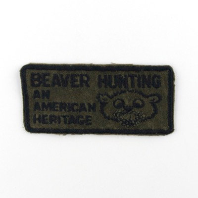 "ALM Message Patch ""Beaver Hunting"""