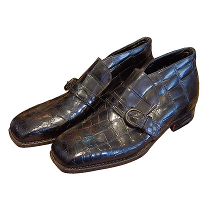Vintage Johnson & Murphy Turtle Leather Shoes ②