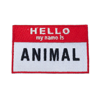 "No132 ALM Patch ""My name is ANIMAL"""