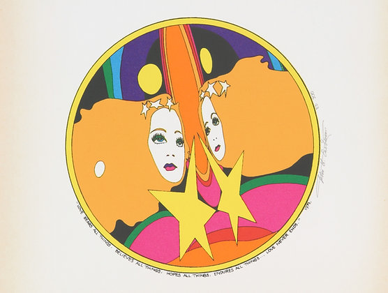 No40, TWIN HEADS Silk Screen (1979)