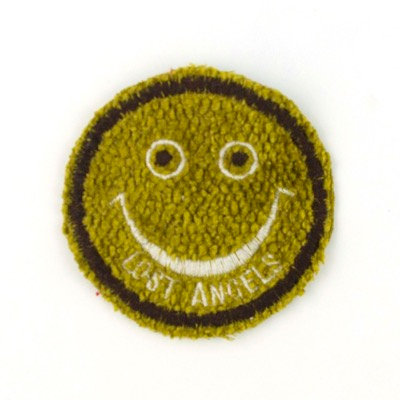 """No74 ALM Smile Patch Green """"Lost Angeles"""""""