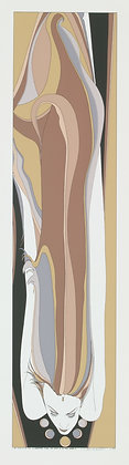 No48, FLOWING HAIR Silk Screen (1977)