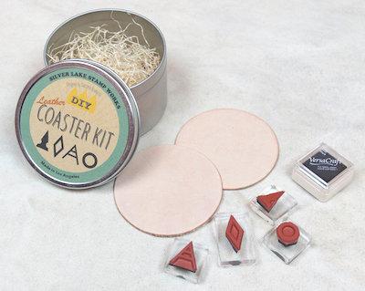 Slver Lake Stamp Works DIY Coaster Kit B
