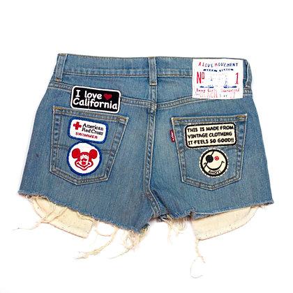 ALM Denim Shorts ⑥