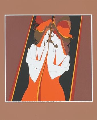 NO55, TWINS-GEMINI Silk Screen (1976)