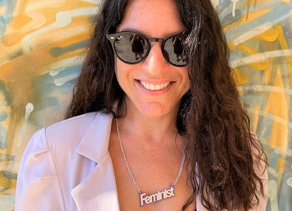 Feminist Necklace