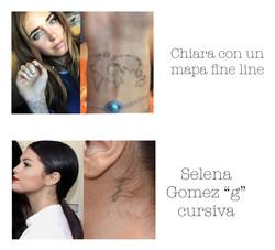 Tattoos claritos fine line