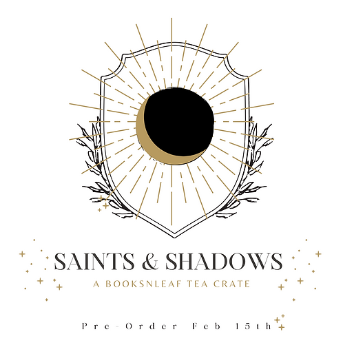 Saints and Shadows Tea Crate