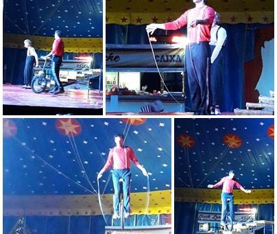 Passeio Circo Grock & Exposição