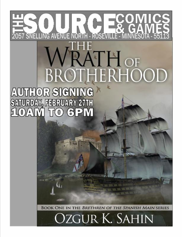 Book Signing at The Source Comics & Games