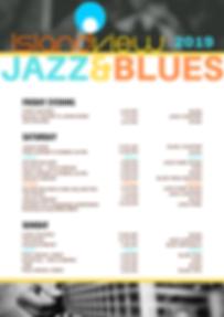 2019 Island View Jazz Blues Schedule (1)