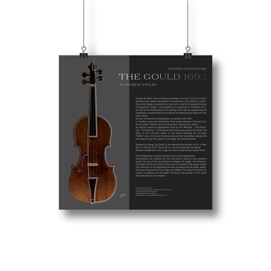 The Gould educational illustration by Mary brun Stringed Instruments Graphics