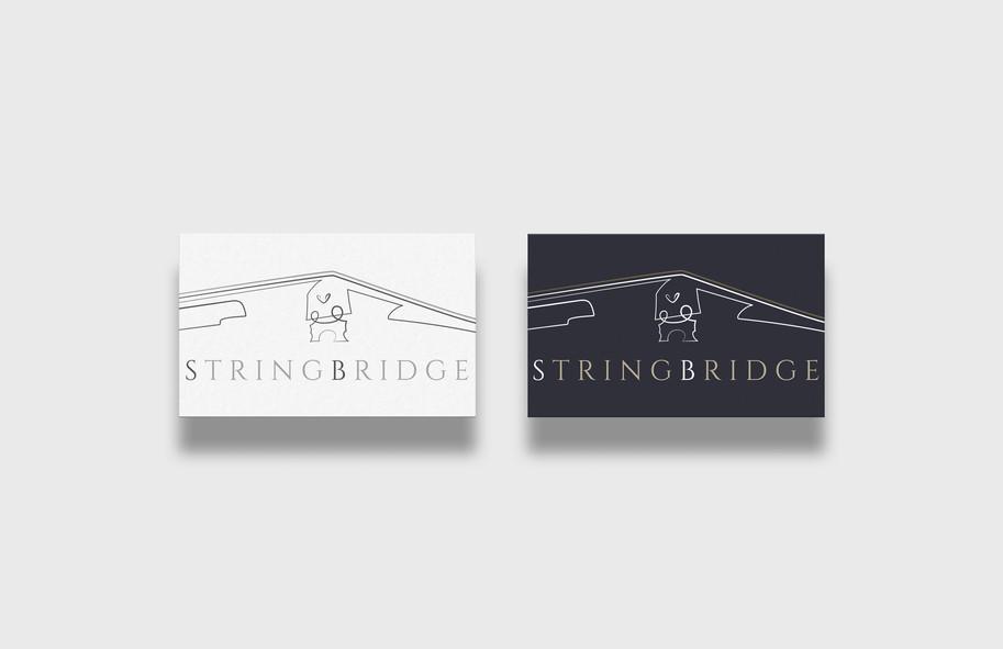 Stringbridge custom logo design