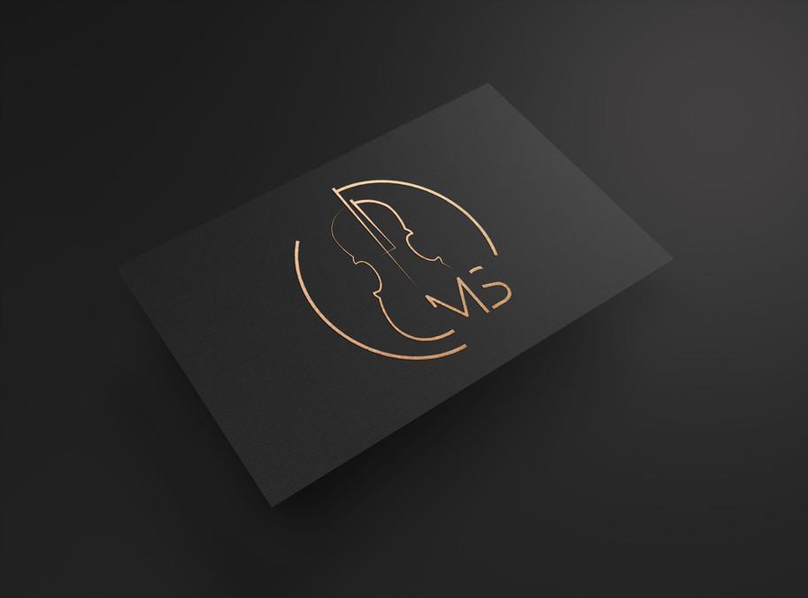 Markus Scheling custom logo design