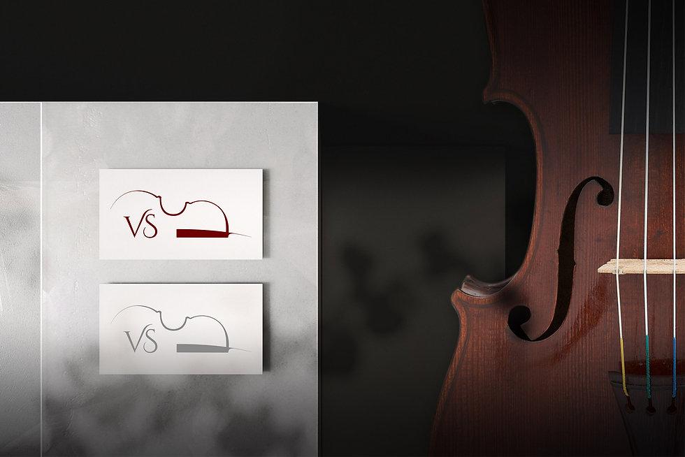 Vuokrasoitin Logo Design