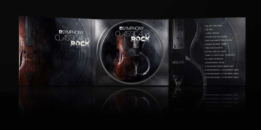 CD project by Mary Brun Stringed Instruments Graphics