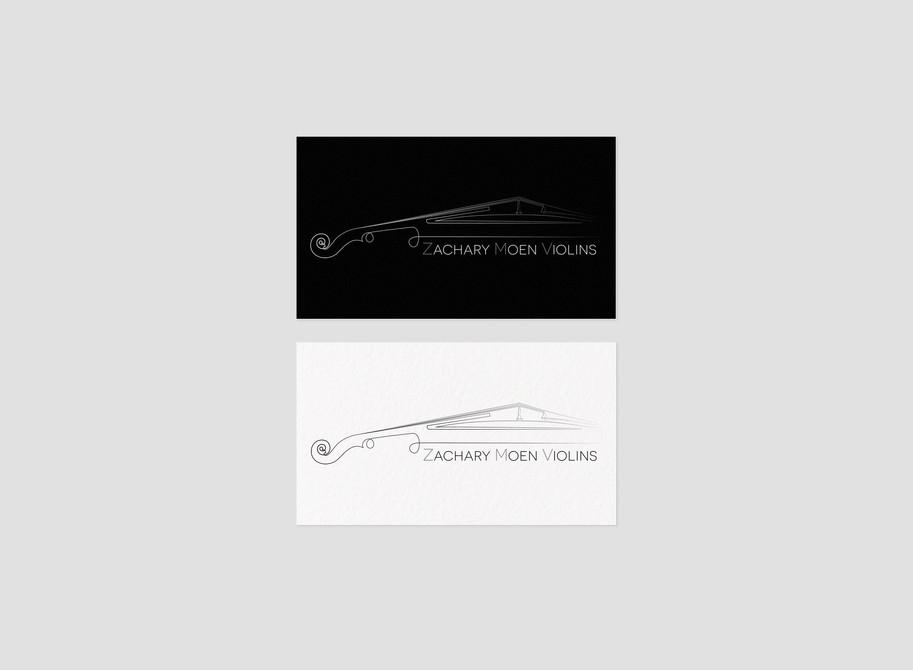 Zachary Moen violins custom logo design