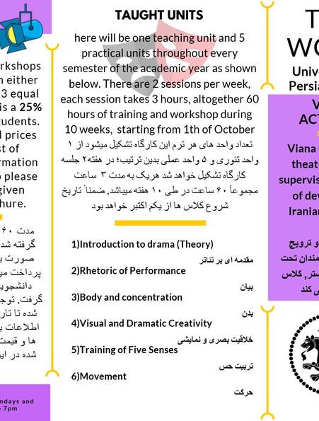 Theatre Workshops