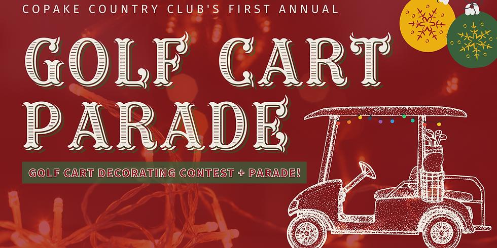 Golf Cart Parade Contest