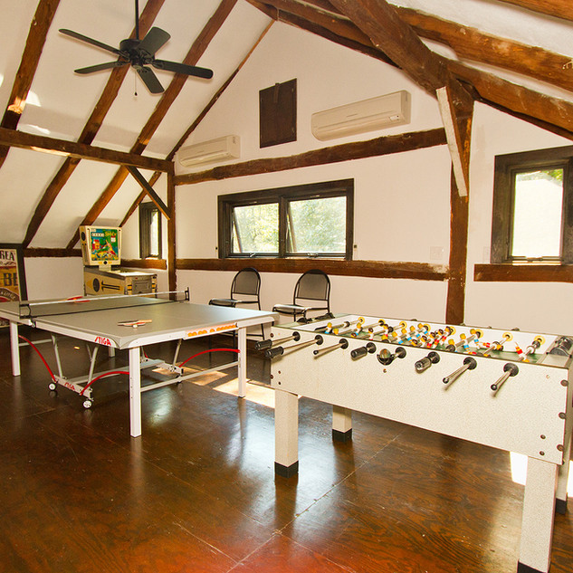 Interior view of lofted Game Area