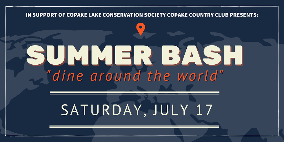 Summer Bash: Dine Around the World for CLCS