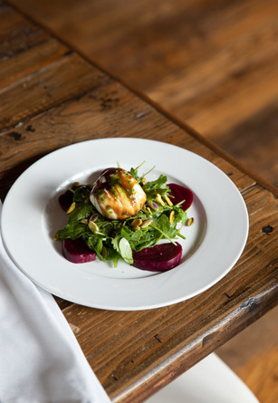 Roasted Beets with Burrata Appetizer