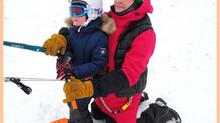 Обучение сноукайтингу для детей