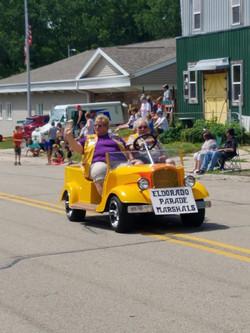 Waterworth parade marschals