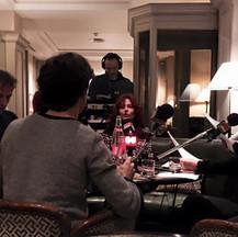 Interview pour France Musique - Hotel Bedford - Paris - 2016