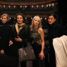 Laurence Paugam, Faustine Tremblay, Françoise Paugam et Zoé Nikolaidou