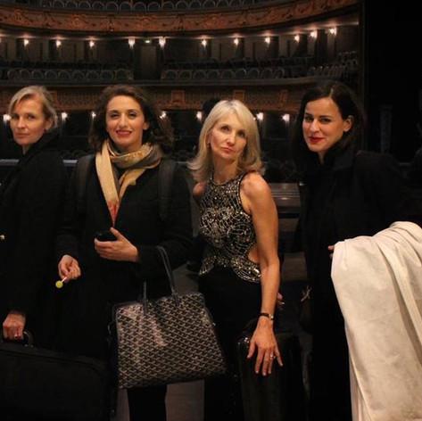 Laurence Paugam, Faustine Tremblay, Françoise Paugam and Zoé Nikolaidou