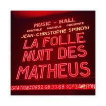 Folle Nuit des Matheus - Olympia - Paris - 2016