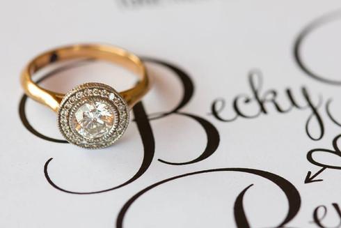 Wedding Stationery | Becky + Ben