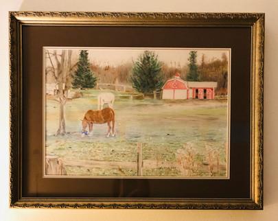 """""""Horses, Grazing"""""""
