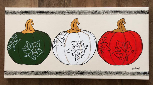 """""""Gold Stemmed Pumpkins"""""""