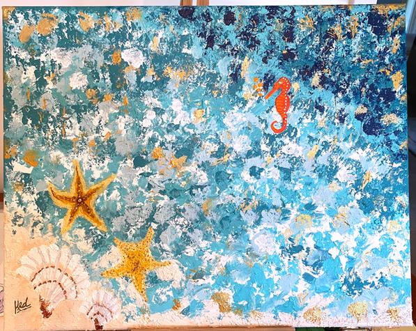 """Seashell Magic"""