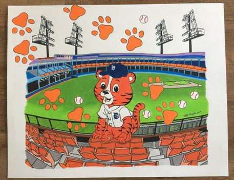 """""""Paws at Tiger Stadium"""".jpg"""