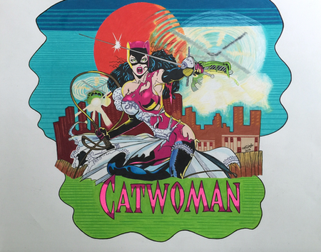 """""""Catwoman in Pink"""""""