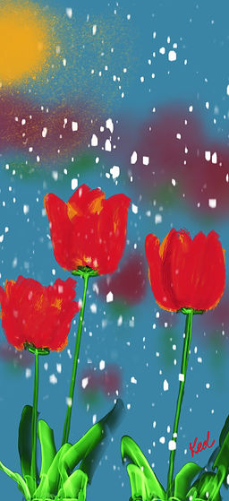 jpegKDoyleTulips_in_a_Late_Spring_Snow c