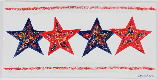 """Happy 4th of July Stars"""