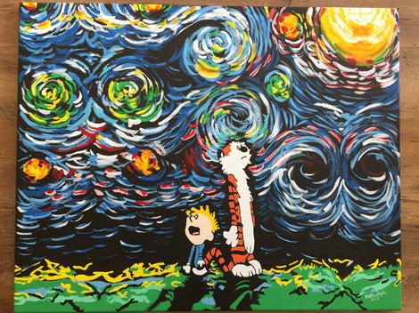 """Calvin and Hobbes"""